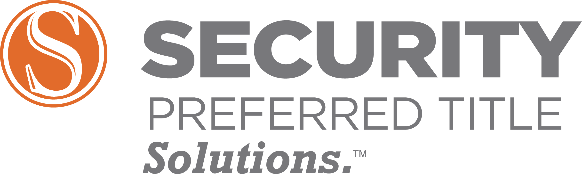 Security Preferred Title Solution Logo